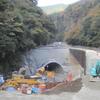 立野ダム・仮排水路着工−総選挙の大事な争点