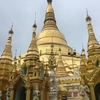 【ミャンマー旅】首都ヤンゴンを観光!黄金の仏塔パゴダからヤンゴン大学まで周遊!