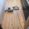 1周年大掃除 ②キッチンの床を削るぞ〜