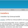 PostgreSQL 9.6:Win10 にインストール