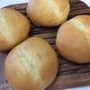 チーズパンとクランベリーナッツパン