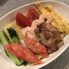 麺喰らう(その 58)自家製冷やし中華(シマダヤの流水麺)