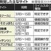 「見て感染」サイト急増…トヨタ・環境省も被害-読売新聞(2013年8月14日)