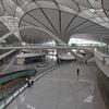 中国京報網が伝えた開港まで57日に迫った北京大興国際空港の様子