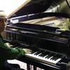 今日はとうとうグランドピアノとお別れの日になりました。