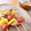 【キャンプ飯】現地で調理!見た目も楽しいカラフル串焼きおすすめです◎