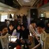 東京賢治シュタイナー学校 ヨーロッパ美術旅行 フィレンツェに向かっています。