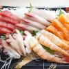 スーパーのお刺身で手巻き寿司(*´▽`*)