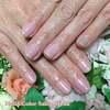 人気のうる艶カラーシリーズで、潤いのある指先に♡ピンクベージュのワンカラーネイル☆