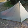 新テントとともに