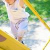 転んでばかりのお年頃*息子に「膝が隠れる丈」の夏用ズボンを作りました