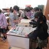 2年生:図工 紙版画 初めて「刷る」