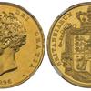 イギリス1826年ジョージ4世5ポンド金貨 NGC PF63 CAMEO