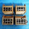 100均の木箱とリメイクシートでタイル柄の木箱収納をDIY!