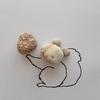 「リス と 松ぼっくりな石英斑岩」糸魚川ピクチャーストーン(紋様石)vol.46