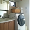 洗濯機について思うこと&まわりの収納。