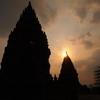 【空港から10分】ジャワ建築の最高傑作!プランバナン寺院群はボロブドゥールとは違った良さがある