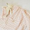 インド綿で薄手のスモックを作りました/「小さくてもきちんとした服」