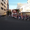 盛岡秋まつり山車 (2018年9月15日) 市内の名所⇒大通り大絵巻パレード!