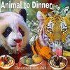 Panda Bear & Tiger to Dinner Time