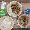 今日の給食 2年生の準備・会食
