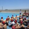 6年生:体育 プール開き 水泳開始!