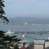 遠見岬神社に参拝し朝市を散策