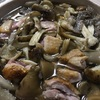 天然きのこの鴨鍋