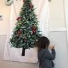 家が狭いのでクリスマスツリーは二次元です。