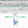Excel:数値によってグラフを出したり、色を塗ったりする方法
