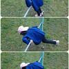 【5歳0ヶ月】鉄棒で前回りが、できるようになりました!
