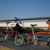 淀川サイクリングロードをBROMPTONで走ってきた