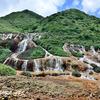 金瓜石の黄金瀑布