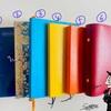 【journal  labo #0】私の手帳とノートたち。