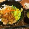 アボカドとイチボのカットステーキ丼(外食)