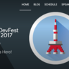 DevFest Tokyo 2017まとめ&感想 #DevFest17