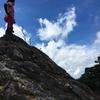 傾山へトレーニングテン泊