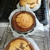 マーブルチーズケーキとサバラン