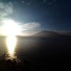 磯海岸(桜島を眺める)