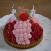 母の日で娘夫婦がケーキを持って来た