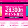 楽天モバイル、Rakuten UN-LIMITと対象端末購入で最大28,300円分のポイント還元キャンペーン