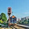 ホアヒン駅へ 「SPECIAL EXPRESS NO.43」(スプリンター特急)にてバンコク ファランポーン駅から乗車!!