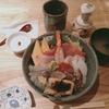 まぐろ人の生シラス入り海鮮丼がアプリで半額!コレド日本橋