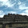 ボロブドゥール寺院に行きました。