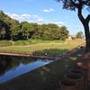 今城塚古墳へのライディング。