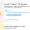 カンタン!Pythonの構築環境の設定方法 Windows版