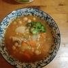スープ二種類とサワドー・ブレッド二つで夕飯