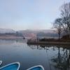 亀山ダムで釣り納めスタート