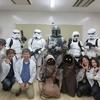 川崎市の聾学校できゃらみらーを展示