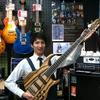 【気ままにベースブログ】こんなベース見たことない!Sago New Material Guitars 「Ridill5」